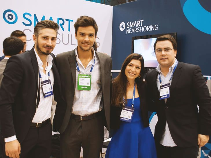 SMART Consulting marca presença na Web Summit